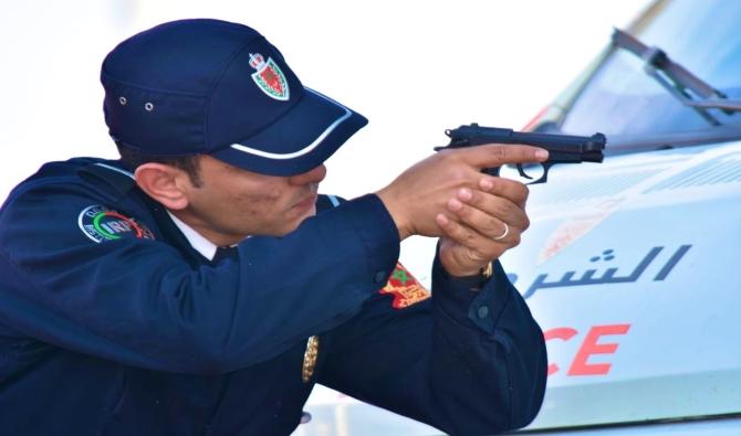 شرطي يطلق ثلاث رصاصات لإيقاف جانح عدد سلامة المواطنين بساطور في شوارع الرباط