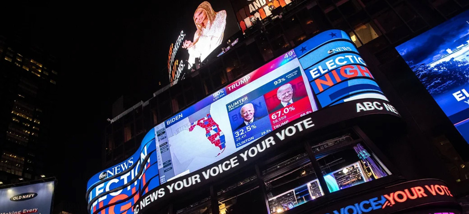 البورصات منقسمة على خلفية اشتداد المنافسة في نتائج الانتخابات الأمريكية
