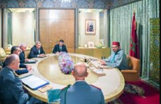 الملك محمد السادس يعقد جلسة عمل من أجل وضع استراتيجية لتلقيح المغاربة