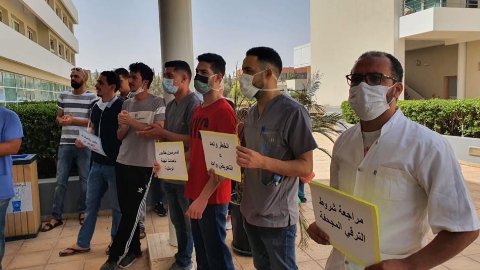 حوالي 9000 معطل من الممرضين وتقنيي الصحة والوزارة تتفرج على انهيار المستشفيات