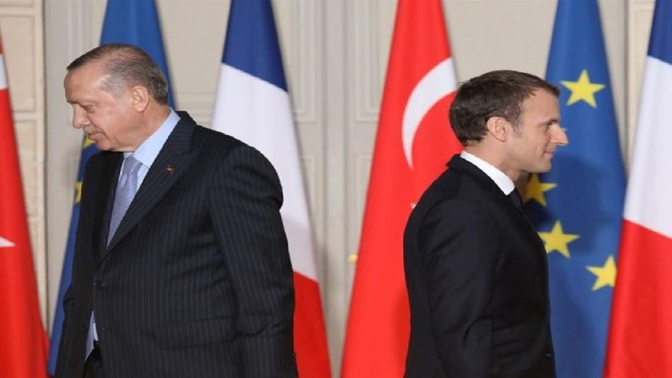 أردوغان يدعو لـ «التخلُص» من ماكرون