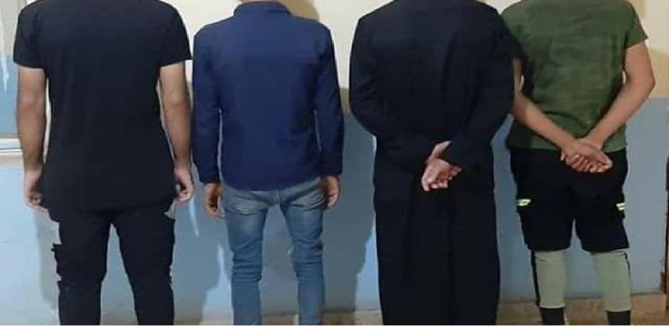 إعتقال 4 أشخاص متورطين في السرقة بالعنف والإختطاف والإحتجاز