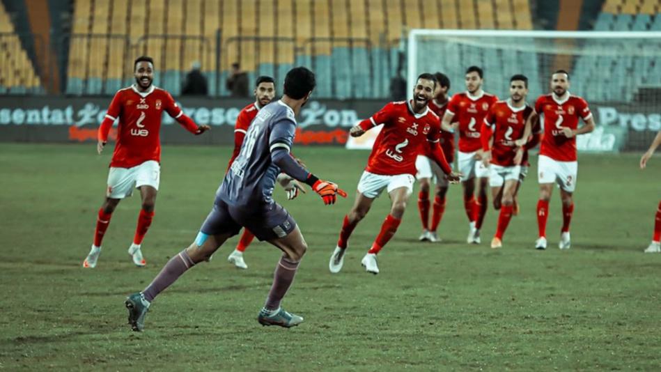 الأهلي المصري يتوج بكأس مصر على حساب طلائع الجيش