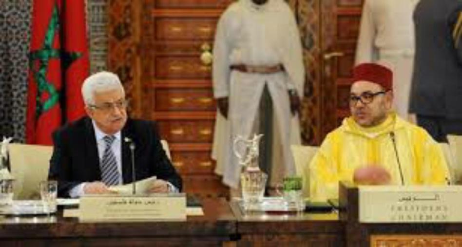 الملك محمد السادس يجري اتصالا هاتفيا برئيس دولة فلسطين