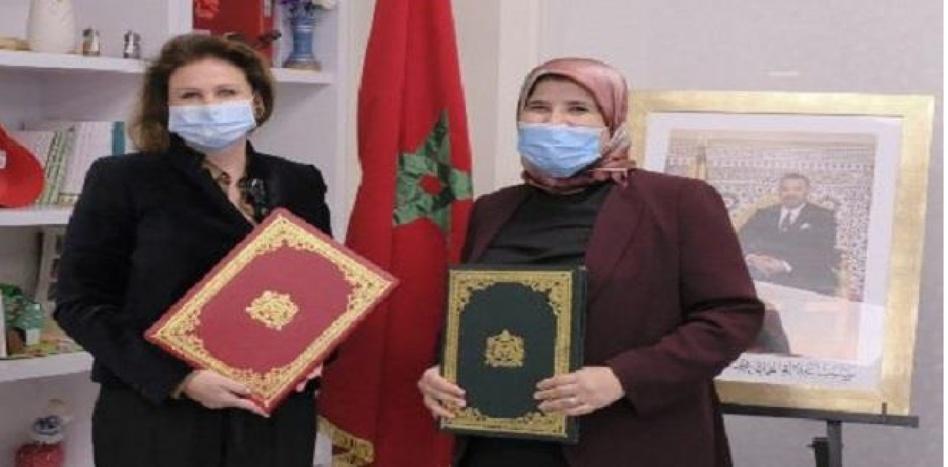 الأميرة للا زينب تترأس مراسيم توقيع اتفاقية شراكة بين وزارة المصلي والعصبة المغربية لحماية الطفولة