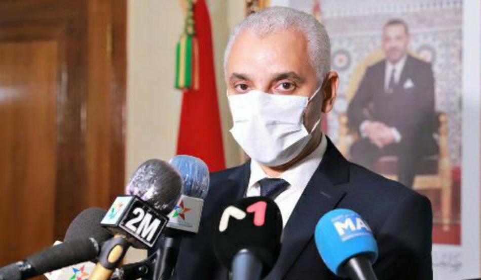 وزير الصحة يقر بعدم معرفة تاريخ تلقيح المغاربة ضد كورونا !