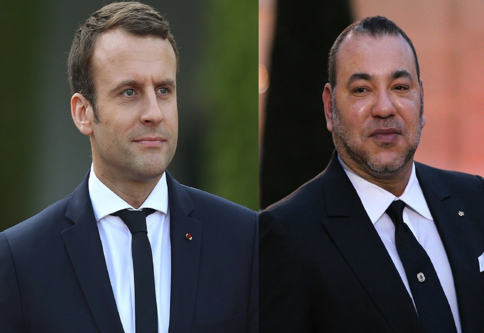 الملك محمد السادس يتمنى الشفاء العاجل للرئيس الفرنسي