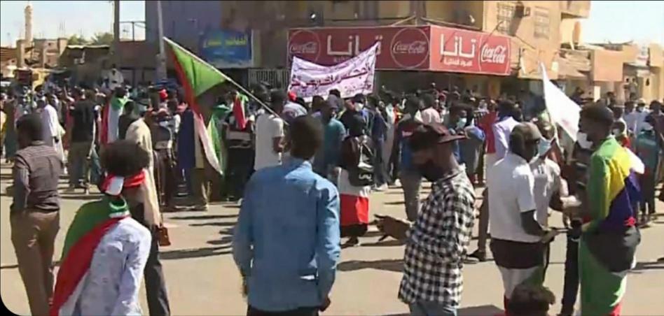 احتجاجات مطالبة بإسقاط الحكومة في الخرطوم