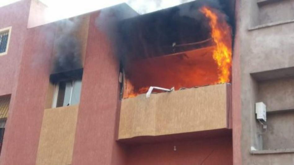 حريق يودي بحياة عجوز داخل مسكنه بالبيضاء