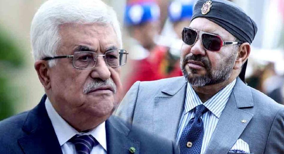 جلالة الملك يُجَدِّدُ التَّأْكِيدَ لـ«عباس» على ثَبَاتِ الموقف المغربي الداعم للقضية الفلسطينية