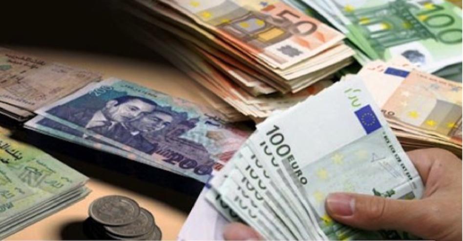 قيمة الدرهم تتراجع أمام اليورو
