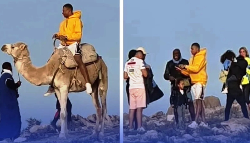 مبابي لاعب باريس سان جيرمان يستمتع بإجازته في المغرب يشعل مواقع التواصل!