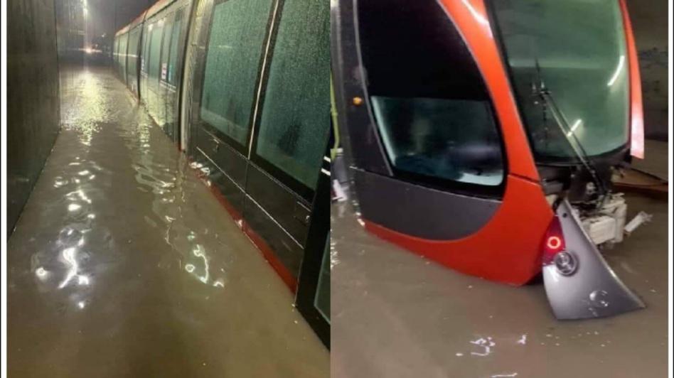 """شركة """"ليديك"""" في ورطة بعد غرق شوارع الدار البيضاء بالأمطار"""