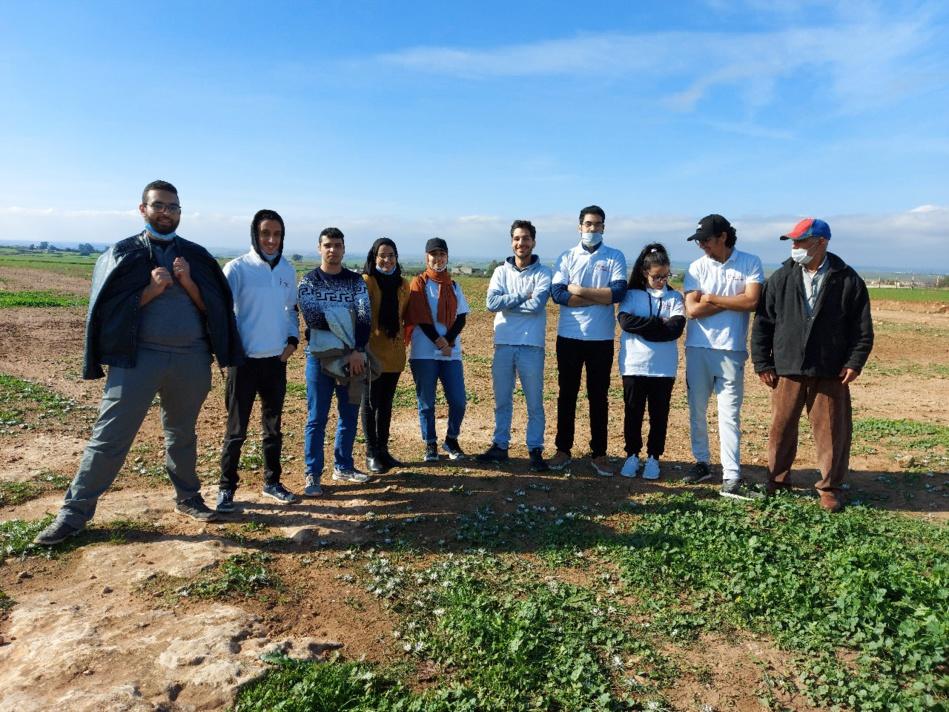"""""""قفة الخير"""" مبادرة طلابية لإغاثة سكان البوادي المتضررين من الجائحة"""