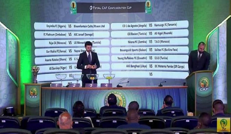 إعفاء فريق نهضة بركان في قرعة كأس الكاف والأندية المغربية تتعرف على منافسيها