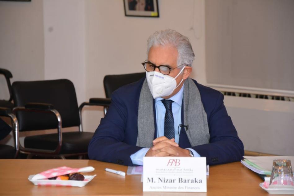 """نزار بركة يناقش موضوع""""إشكالية تنازع المصالح في الحياة العامة"""""""