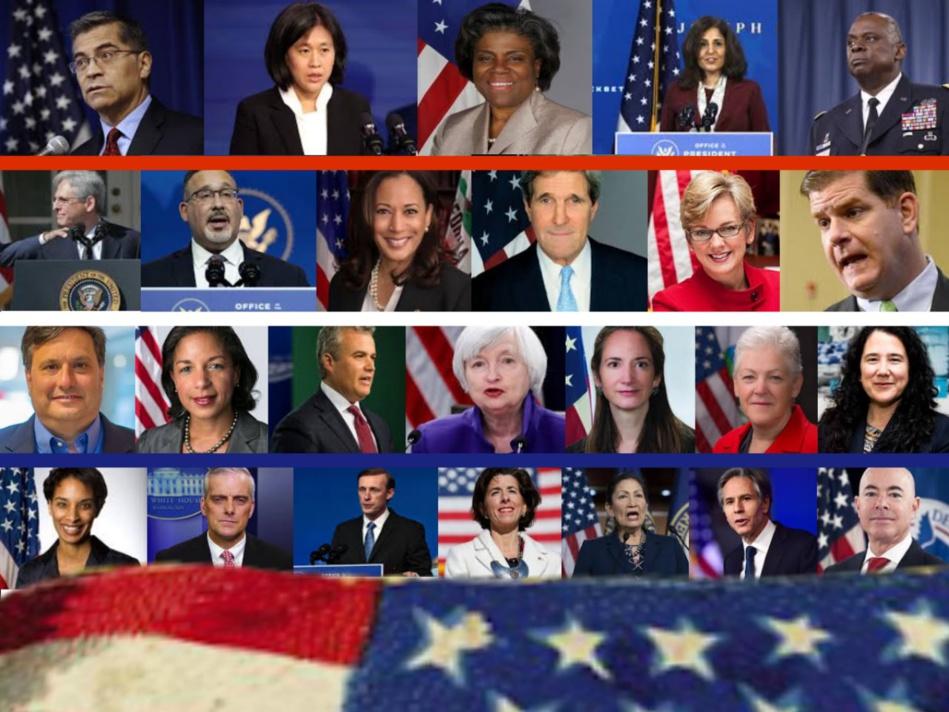 هذه قائمة أعضاء إدارة جو بايدن لحكم أمريكا