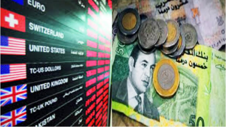 هذه أسعار صرف العملات الأجنبية مقابل الدرهم