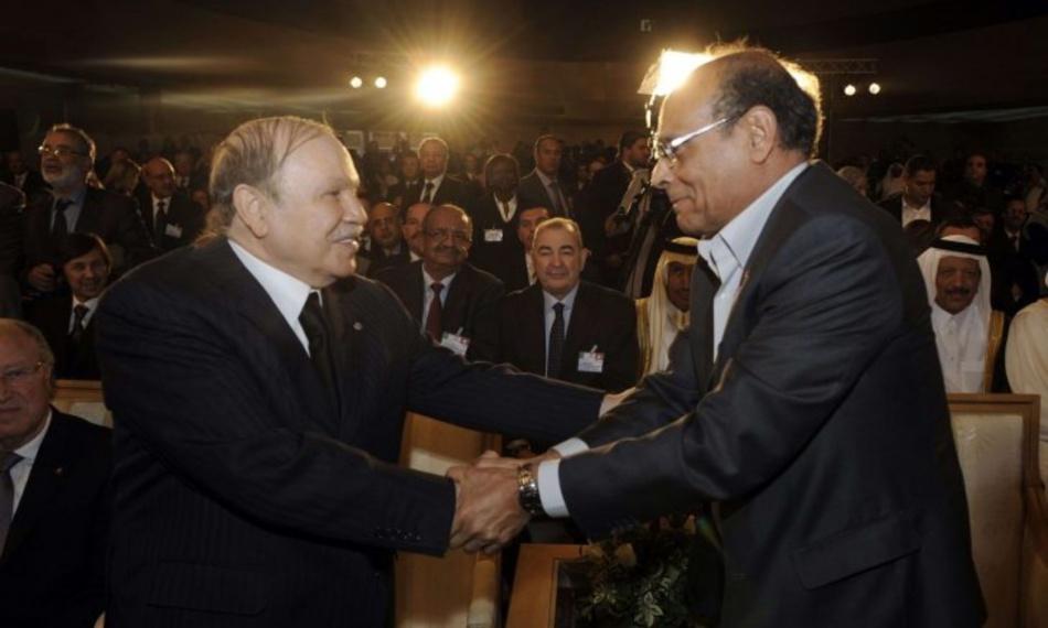 المرزوقي: النظام الجزائري حارب الثورة التونسية