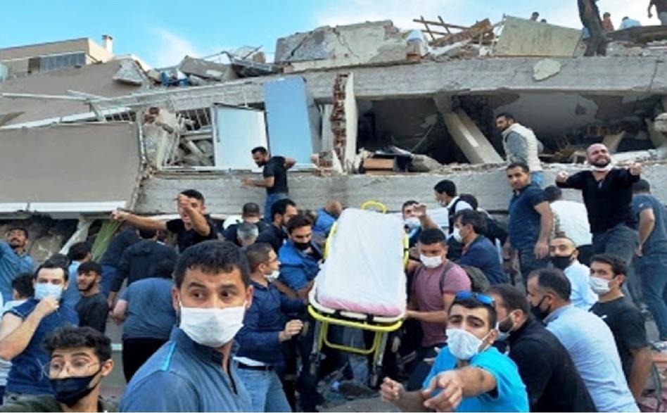 زلزال قويّ يضرب وسط تركيا