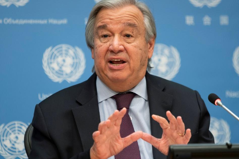 غوتيريش يؤكد التزام الأمم المتحدة بدعم الفلسطينيين والاسرائيليين لحل الصراع