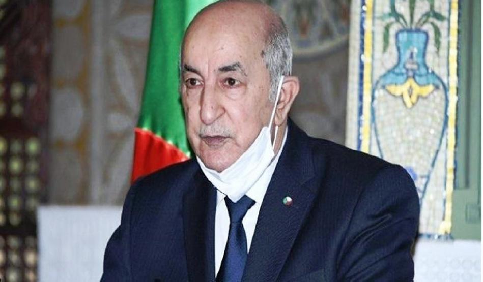 الرئيس الجزائري يعود إلى بلاده بعد رحلة علاج في ألمانيا