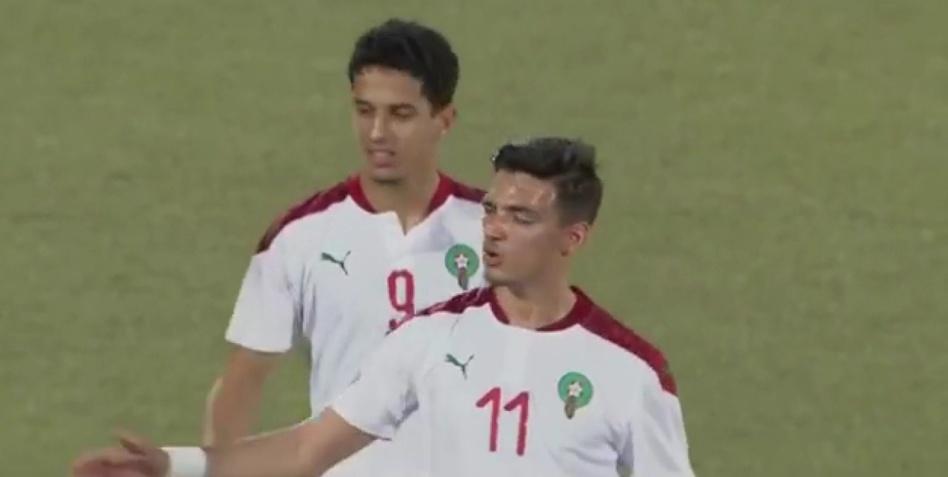 ثلاثية نظيفة تضع المنتخب المغربي في الصدارة لمواجهة تونس في دور الثمانية