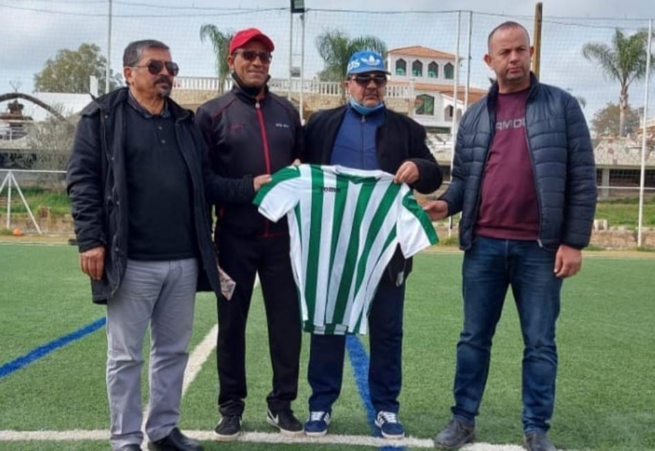 اللاعب الدولي السابق عبد السلام لغريسي مدربا للنادي الرياضي القصري