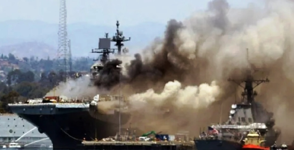 الكشف عن الدولة المتورطة في «تفجير سفينة إسرائيلية» في خليج عمان