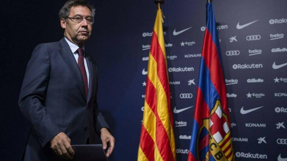 إلقاء القبض على بارتوميو رئيس فريق برشلونة السابق