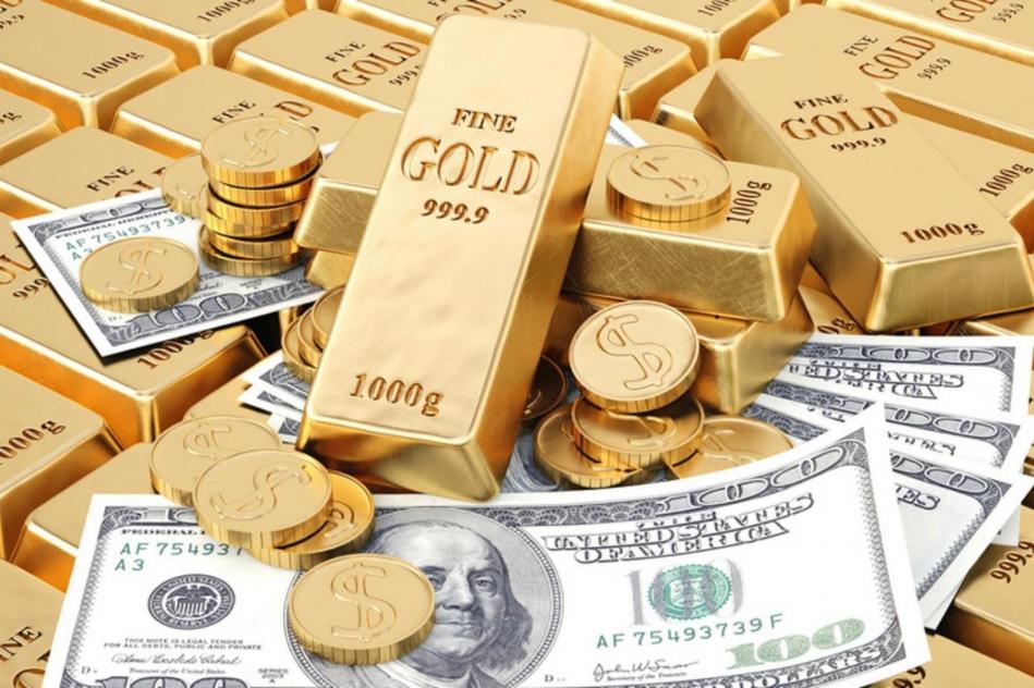 ارتفاع قيمة الدولار يتسبب في هبوط أسعار الذهب لأقل مستوى