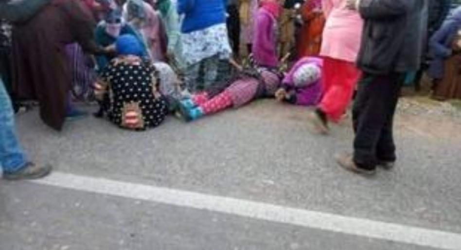 حادثة سير تتسبب في إصابة عاملات زراعية بأكادير