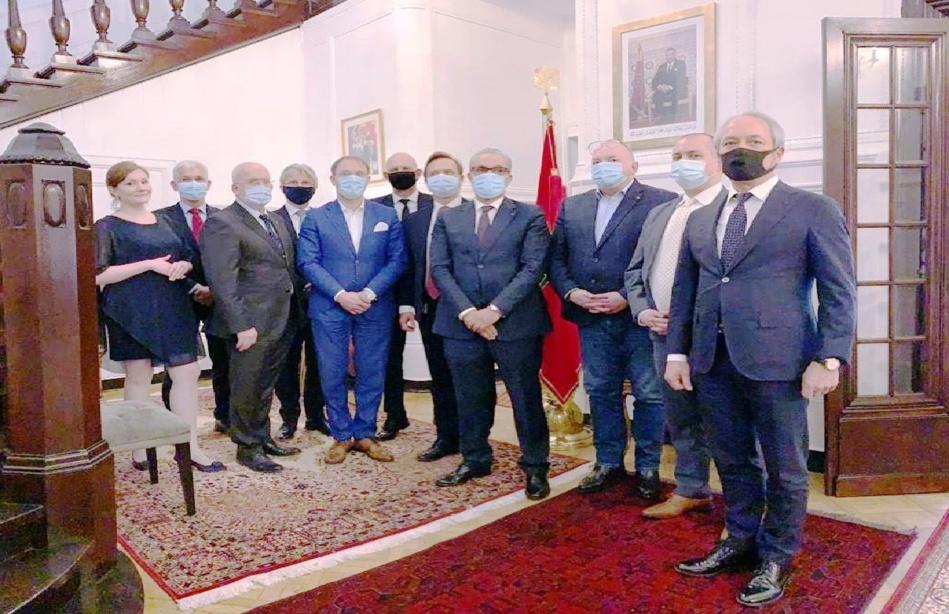 مجموعات صناعية بولونية كبيرة تؤكد عزمها الاستثمار في المملكة المغربية