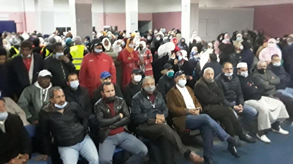 مهنيو الحمامات والرشاشات بالدار البيضاء يلوحون بخوض اعتصام مفتوح أمام مقر ولاية الجهة