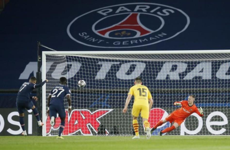 برشلونة ينهزم أمام صلابة أسوار باريس بخمسة أهداف لهدفين ويغادر المسابقة