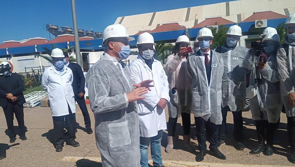 هذ ما فعله المدير العام لشركة كوزيمار أولاد عياد لطمأنة الرأي العام من استعمال الفحم الحجري