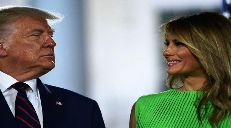 """""""ترامب"""" وزوجته """"ميلانيا"""" يطلقان """"موقعاً رسمياً"""""""