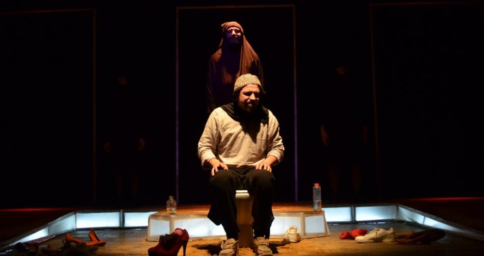 في ظل جائحة كورونا فرقة شارع الفن للابداع تستأنف  جولتها الفنية بمسرحية قاعة الانتظار 1