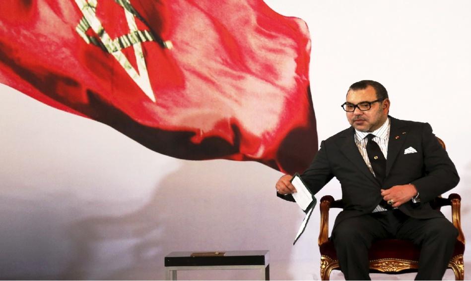 جلالة الملك محمد السادس يستقبل زعماء المركزيات النقابية