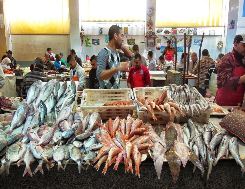 أثمان الأسماك في ارتفاع صاروخي بسبب السماسرة والمضاربين والجهات المعنية تتفرج
