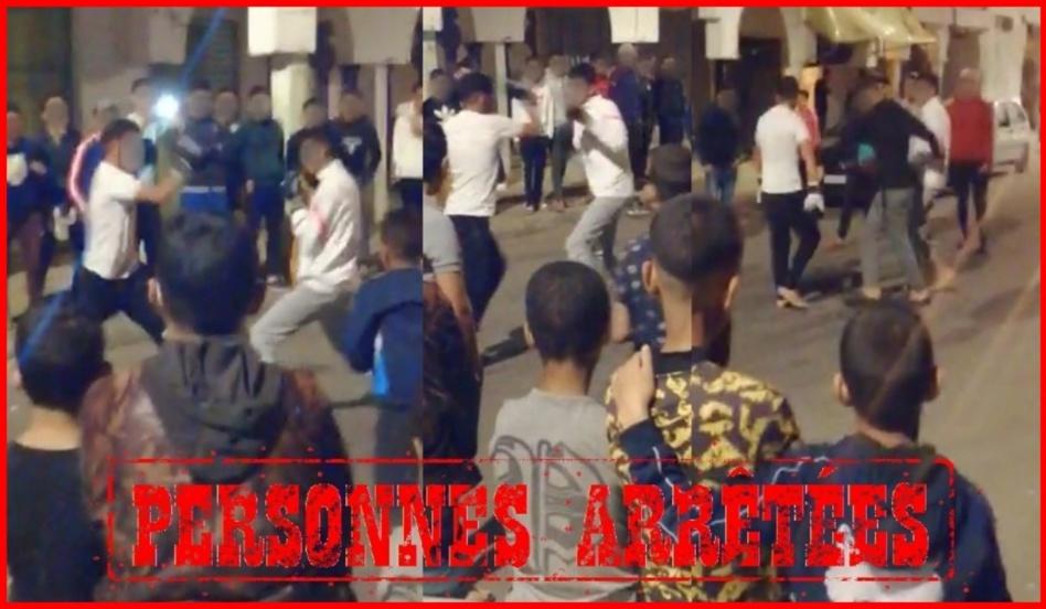 تنظيم نزالات ليلية في الملاكمة بشوارع الرباط يجر مرتكبيها للاعتقال