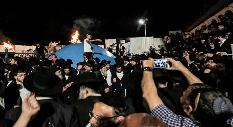 عشرات القتلى والجرحى في حادث خلال حفل ديني بإسرائيل
