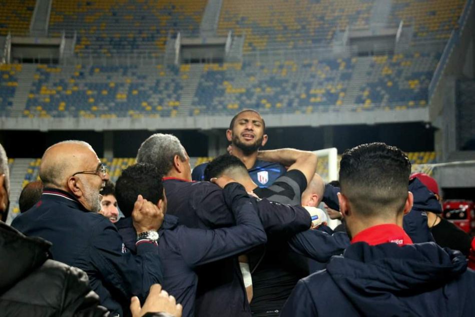 """اللاعب الحسناوي يخلق الحدث ويؤهل فريقه """"الماط"""" للدور نصف النهائي من كأس العرش بـ""""ثوب الحراسة"""""""