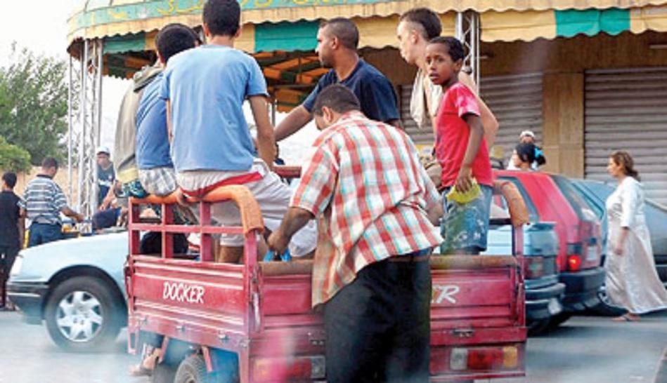 بشكل رسمي.. قرار منع نقل الأشخاص على متن التريبورتور.