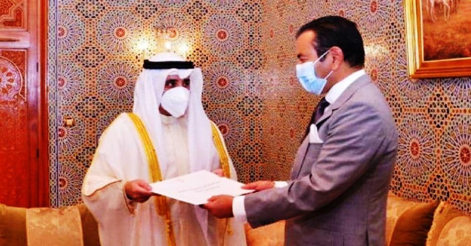 سمو الأمير مولاي رشيد يستقبل وزير الخارجية الكويتي حاملا رسالة من أمير دولة الكويت إلى جلالة الملك