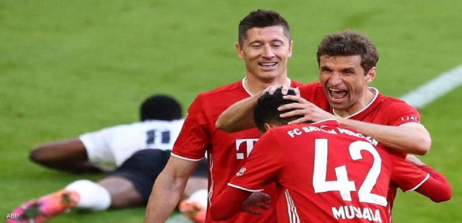 رسميا وبدون مباراة.. بايرن ميونيخ بطلا للدوري الألماني