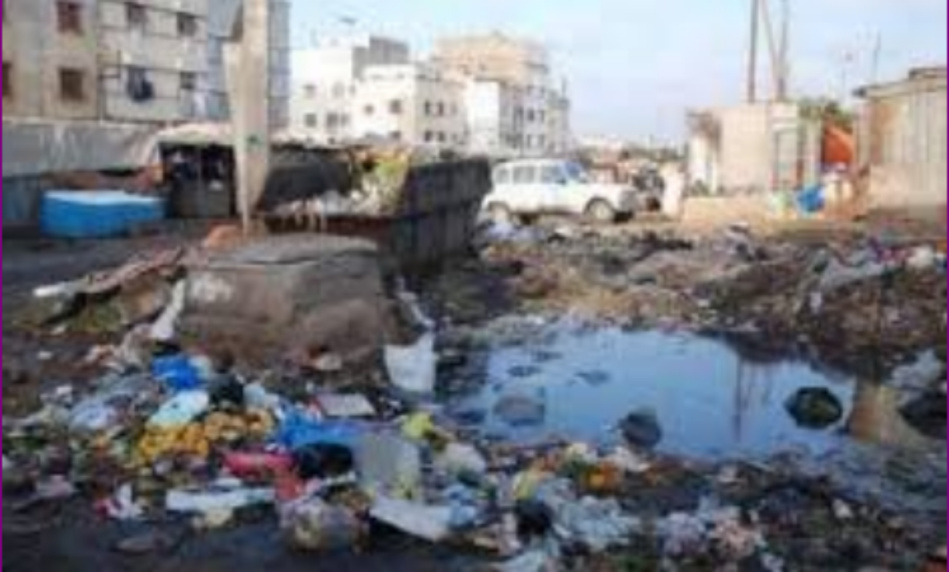 انتشار الأزبال والقاذورات من جديد بعمالة الفداء مرس السلطان