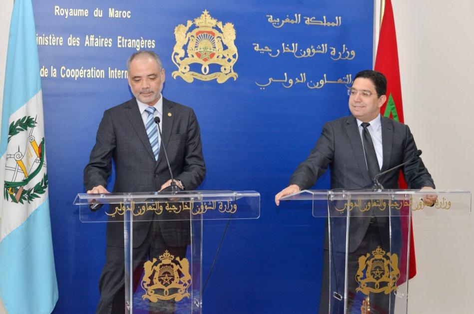 المغرب وغواتيمالا يحتفلان بالذكرى الخمسين لتأسيس العلاقات الدبلوماسية