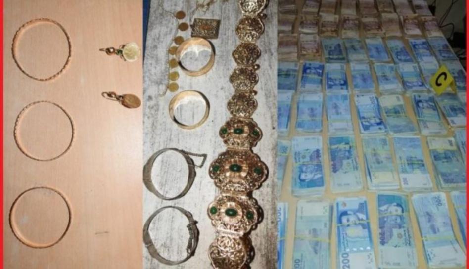 توقيف ثلاثة أشخاص من بينهم سيدة بتهمة سرقة أموال كبيرة ومجوهرات بأكادير
