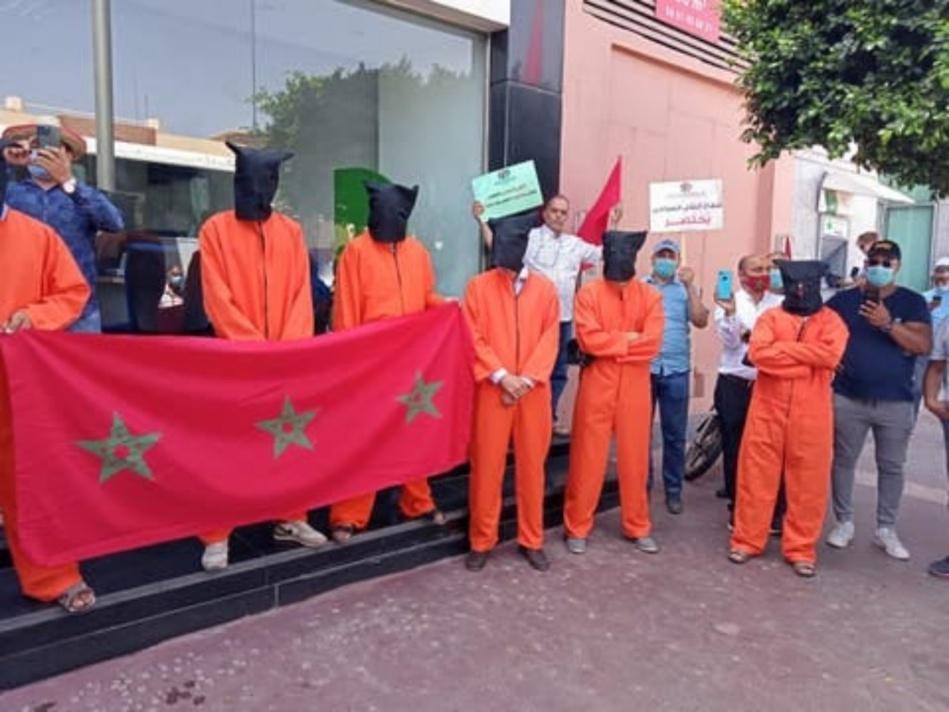 الأبناك تدفع بمهنيي النقل السياحي بمدينة مراكش للعودة إلى الإحتجاج
